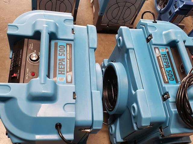 HEPA 500 Defendair Air Scrubber